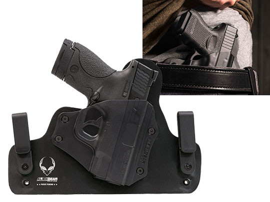 Hybrid Leather S&W M&P Shield Performance Center Holster