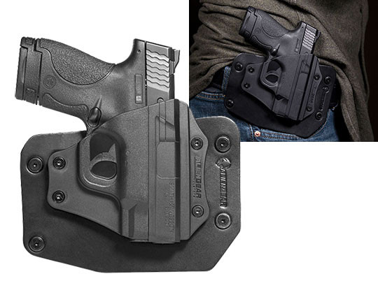 Good S&W M&P Shield 9mm OWB Holster