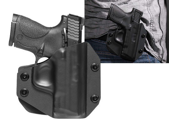 Paddle Holster OWB Carry with S&W M&P9c
