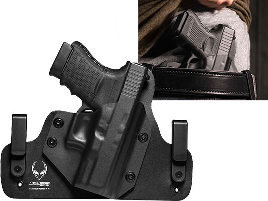 IWB Carry with Hybrid Glock 30s Holster