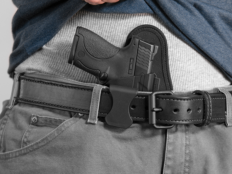 wearing the shield appendix carry holster