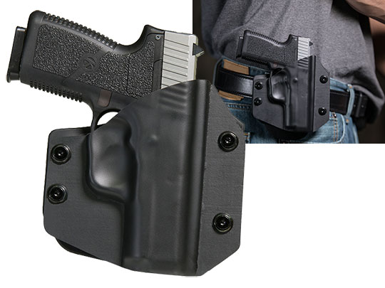 OWB Paddle Carry with the Kahr CW 40
