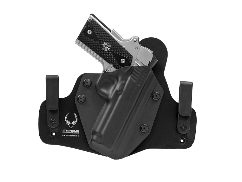 Leather Hybrid Kimber 1911 Compact Models 4 inch Holster