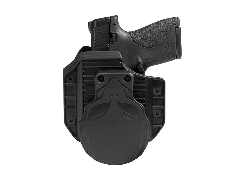 S&W M&P Shield 9mm LaserMax CenterFire Laser Cloak Mod OWB Holster (Outside the Waistband)