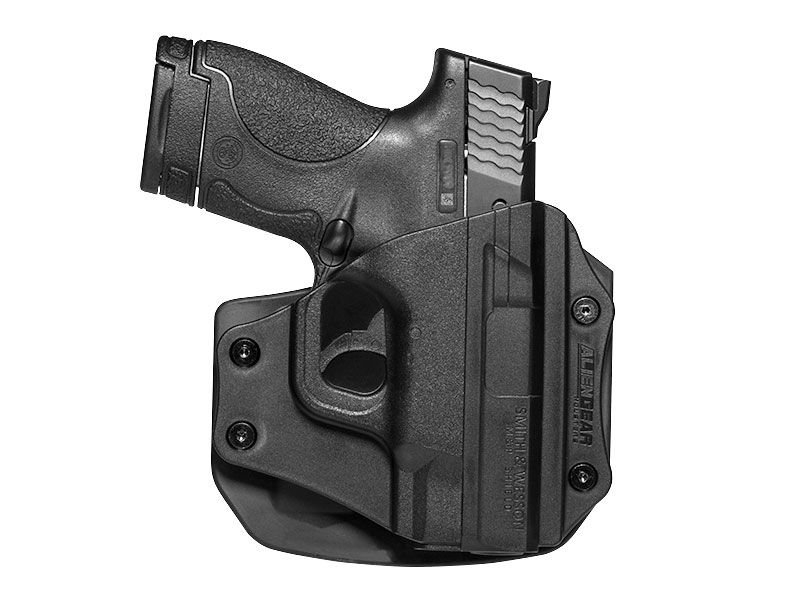 Paddle Holster for S&W M&P Shield 40 caliber
