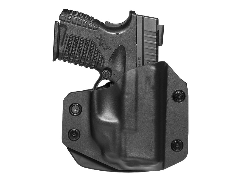 Springfield XDs 3.3 with Crimson Trace Laser LG-469 OWB Paddle Holster