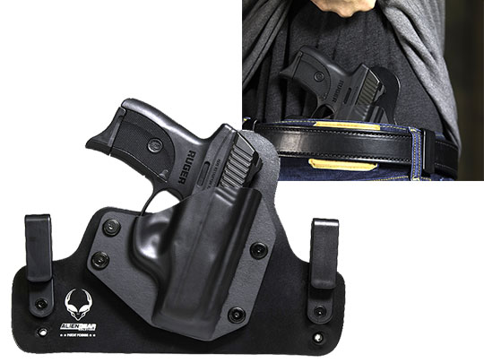Best Ruger LC9s Inside the Waistband Hybrid Leather Holster