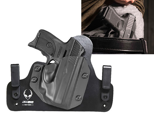 Hybrid Leather Ruger LC9s Crimson Trace LG-412 Holster