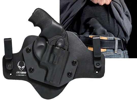 Hybrid Leather Ruger LCR 38 SPL Revolver Holster