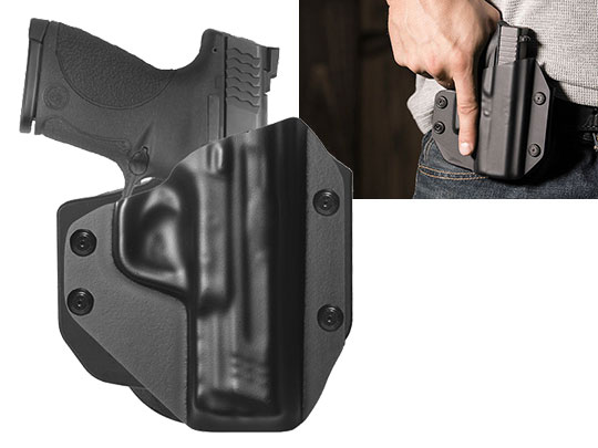 Paddle Holster for S&W M&P45c Compact 4 inch barrel