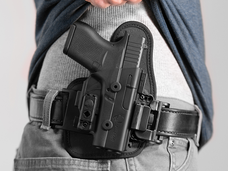 Glock 43 outside the waistband holster