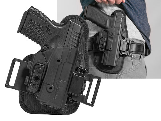 springfield xds 3.3 owb slide holster for shapeshift