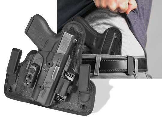 shapeshift iwb holster for the glock 43