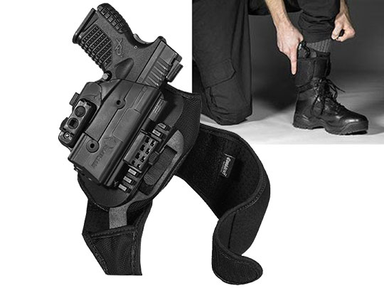Springfield XDs 3.3 ShapeShift Ankle Holster