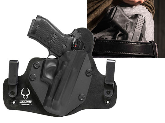 S&W Shield M&P M2.0 with Factory Laser (9/40) Cloak Tuck IWB Holster (Inside the Waistband)