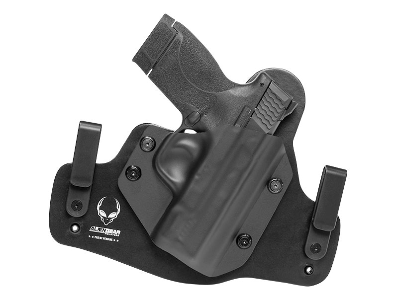 Leather Hybrid S&W M&P Shield 45 Caliber Holster