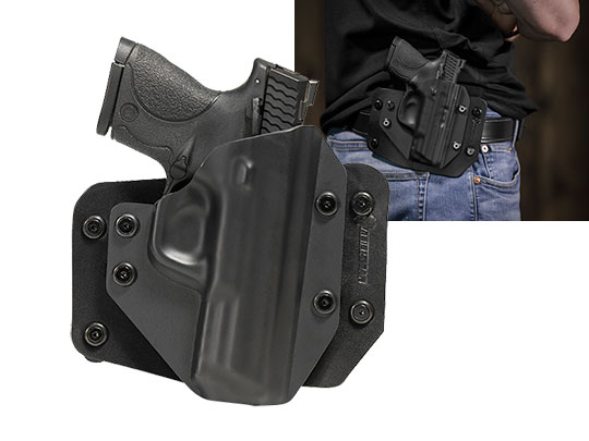 Good S&W M&P40c Compact 3.5 inch barrel OWB Holster