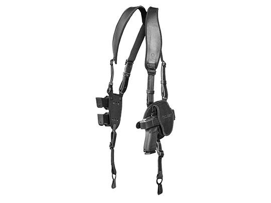 S&W M&P40c Compact 3.5 inch barrel black shapeshift sholder holster