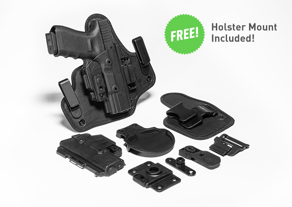 Walther PPQ 4 inch 9mm/40cal ShapeShift Core Carry Pack