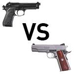 Battle of the service pistol: 1911 vs Beretta M9