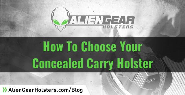 chose your gun holster