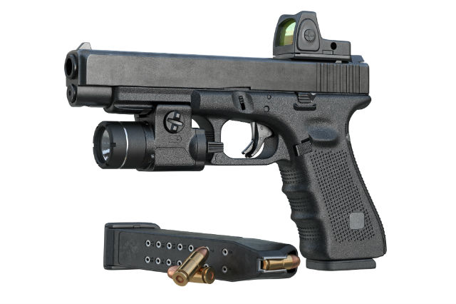 adjustable and fixed gun sights