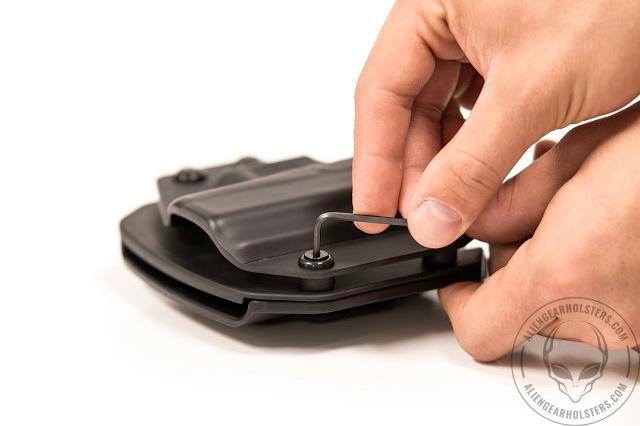 holster adjustability