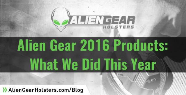 alien gear 2016 products