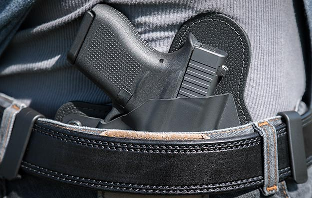 wearing an iwb holster at all times