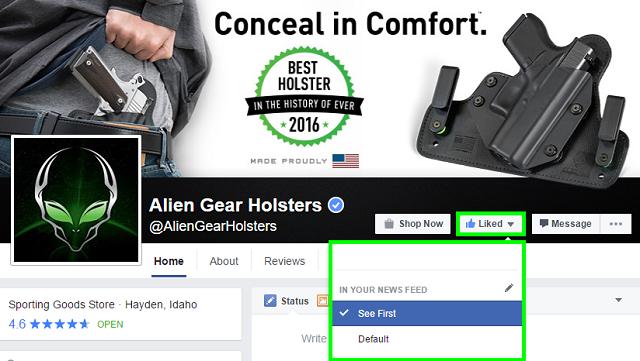 alien gear holsters facebook