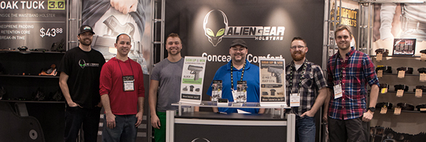 alien gear holsters at 2016 SHOT Show