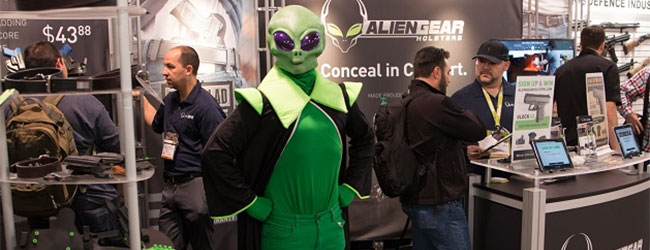 alien gear holsters at shot show 2018
