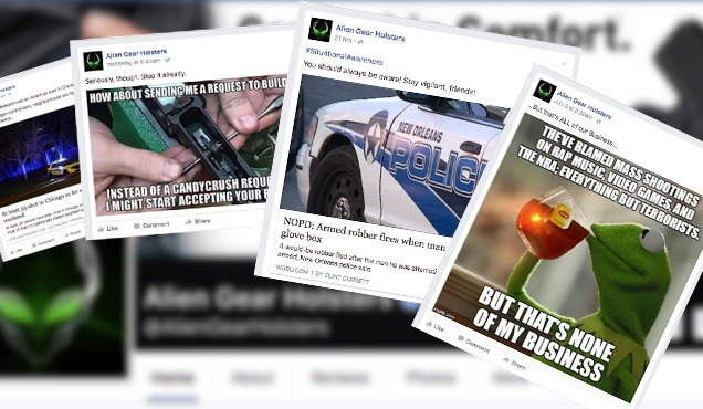 alien gear facebook posts