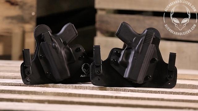 alien gear 2.0 vs. 3.0 iwb holster