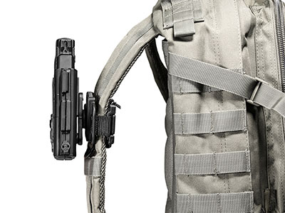 Shell and Mount of the Backpack Holster