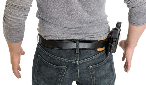Paddle Holster Positioning