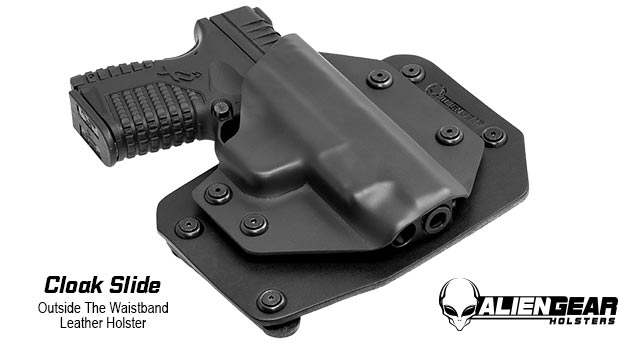 Alien Gear Cloak Slide OWB Holster