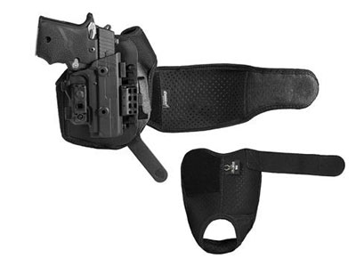 The pieces of the ShapeShift Ankle Carry Holster