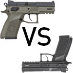 The CZ-P09 vs CZ P-07 for concealed carry