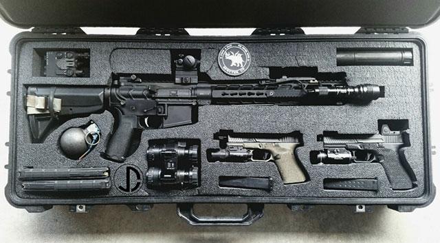 designer gun case for mother's day gift