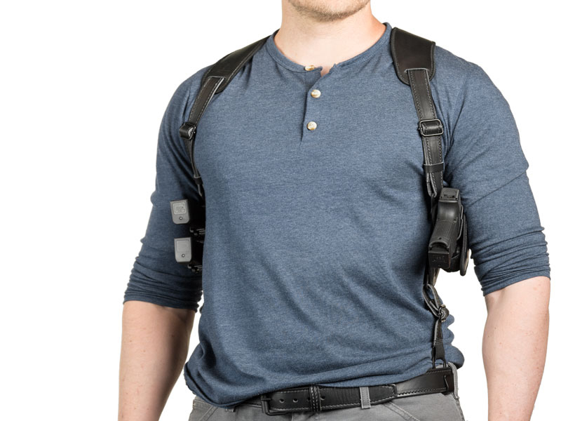 shoulder holster two guns