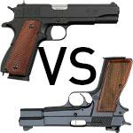 Browning Hi Power vs Browning 1911