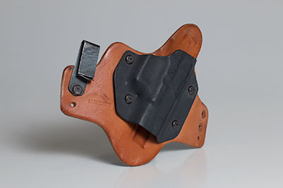 Holster from the motorcycle crash
