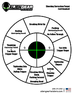 left-handed corrective target