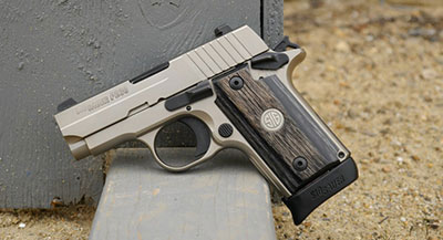 The Sig P238 for concealed carry