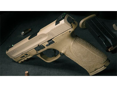 FDE S&W M&P Shield M2.0 9mm