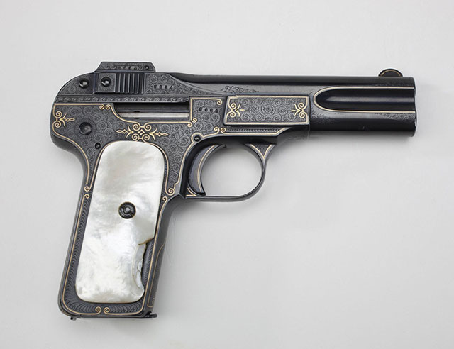 The carry FN M1900 of Teddy Roosevelte