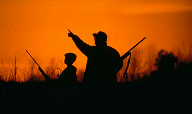 Father & Son Hunting