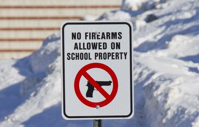 campus gun free zone
