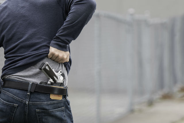 conceal carry Concealed carry (carrying a concealed weapon (ccw)), refers to the practice of carrying a handgun or other weapon in public in a concealed or hidden manner, either on one's person or in close proximity.